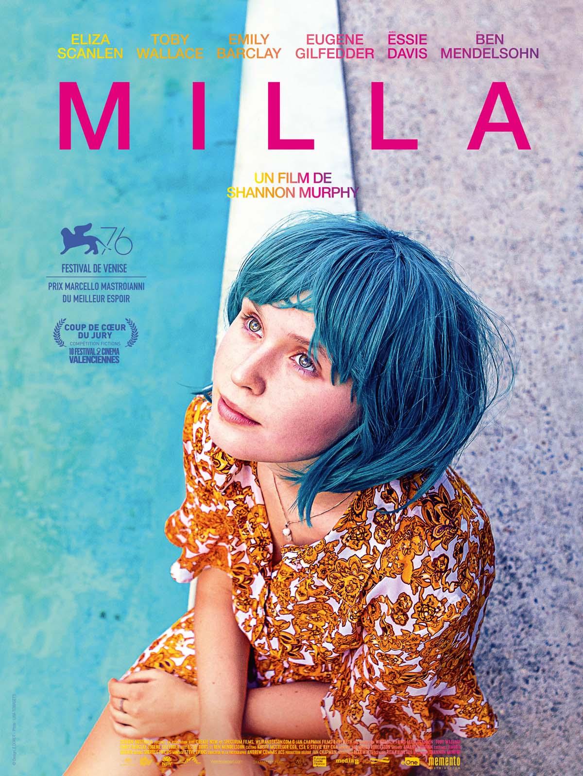 affiche film Milla